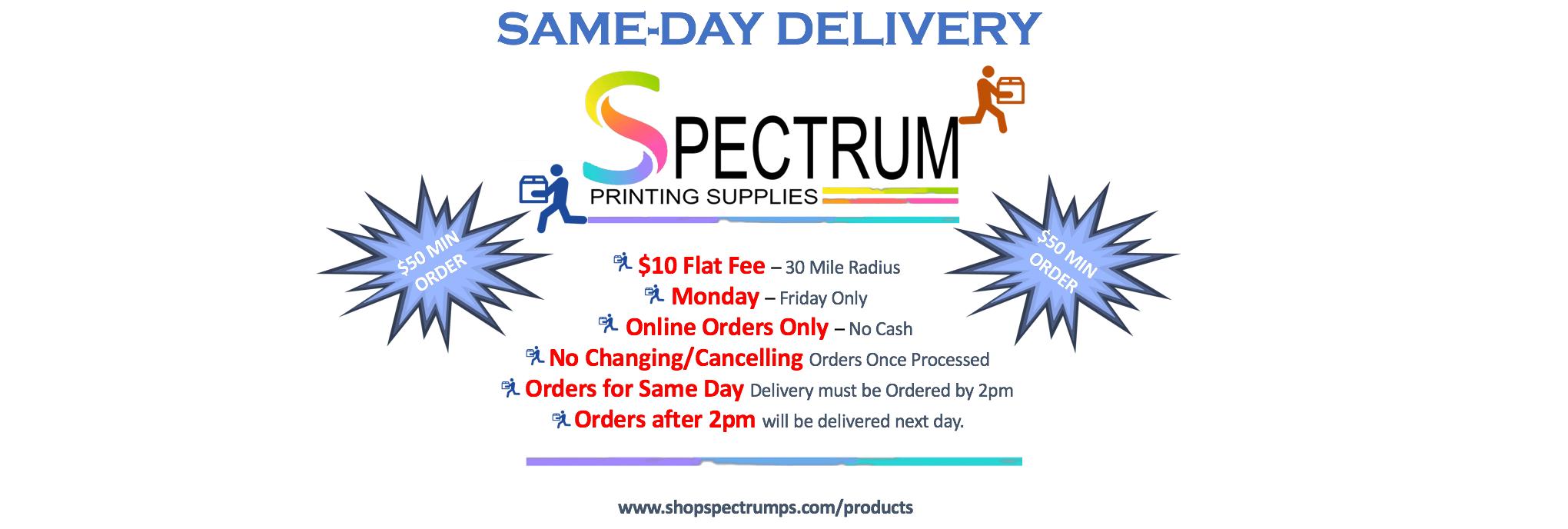 Spectrum Printing Supplies Hapeville Metro Atlanta